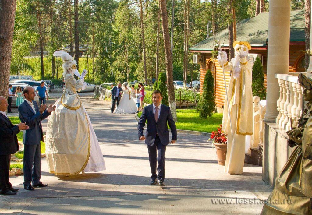 Большая летняя свадьба. 8