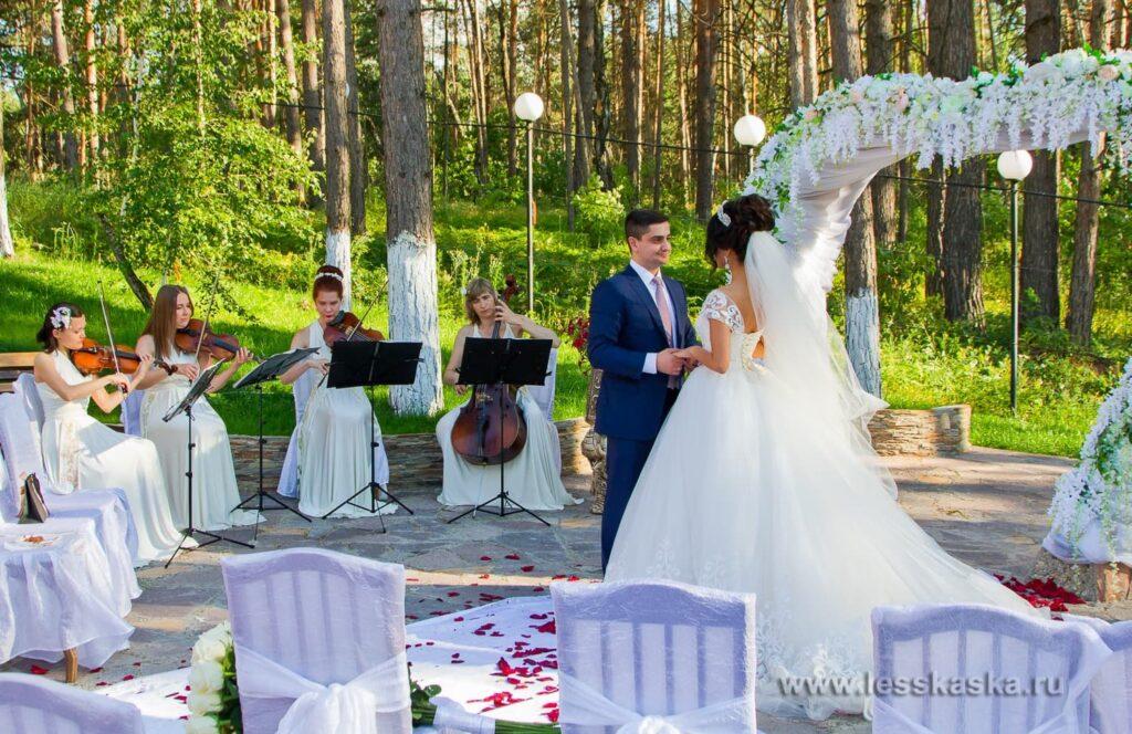 Большая летняя свадьба. 10